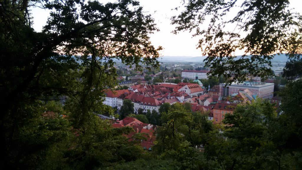View from Ljubljana's Castle
