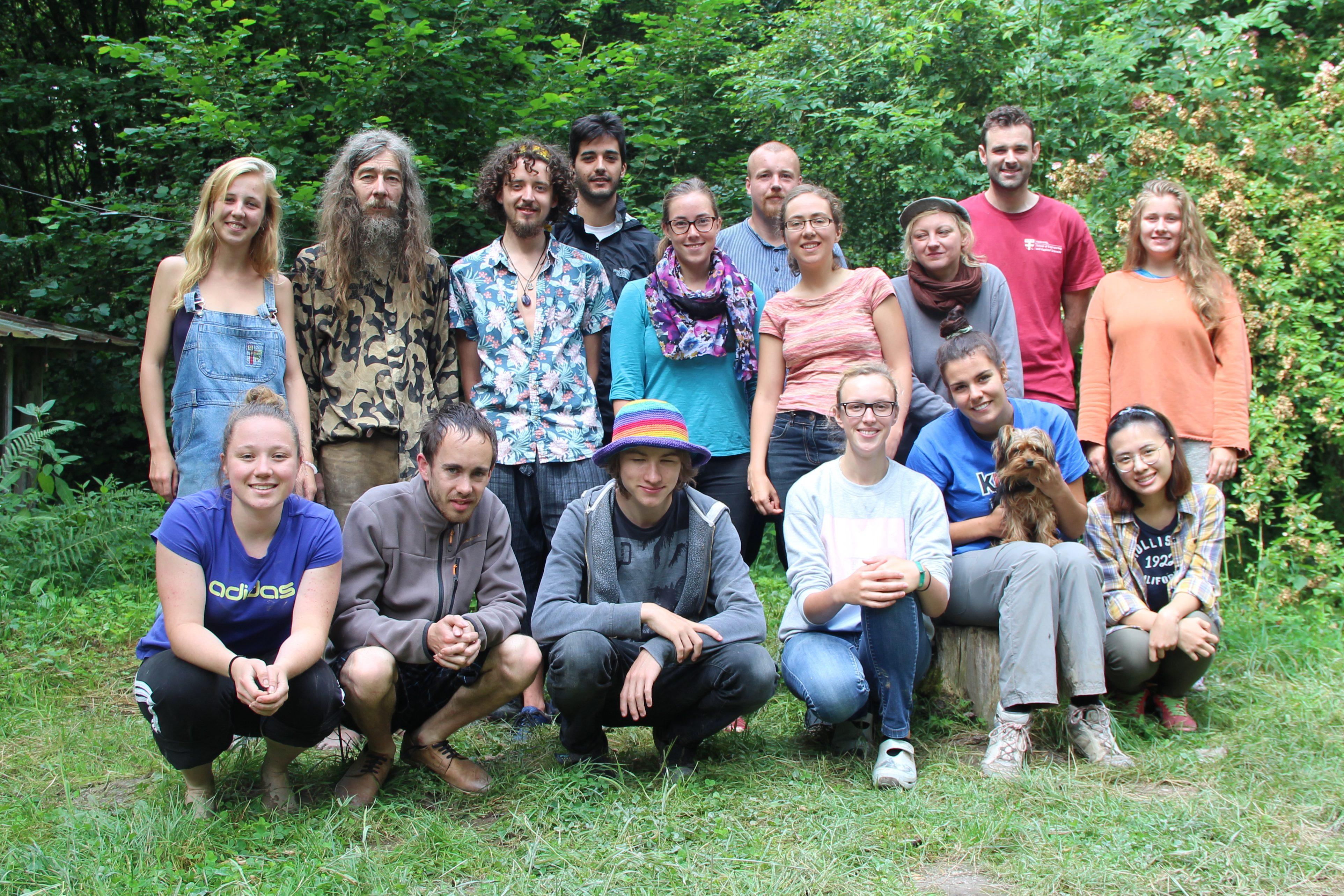 Mednarodni tabor na eko kmetiji v Nemčiji